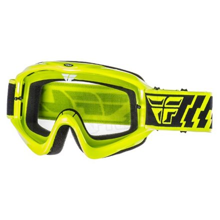 Gogle off-road FLY FOCUS ADULT żółte/fluo
