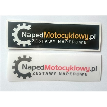 Zestaw naklejek NapedMotocyklowy.pl
