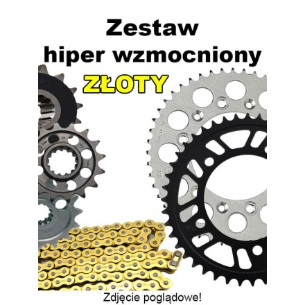 KX 125 2003 DID HIPER WZMOCNIONY ZŁOTY BEZORING