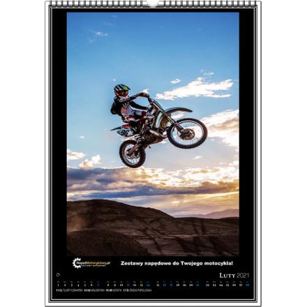 Kalendarz motocyklowy CROSS 2021