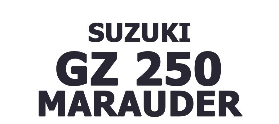 GZ 250 MARAUDER