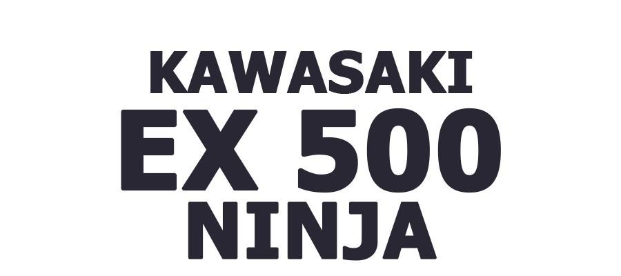 EX 500 NINJA