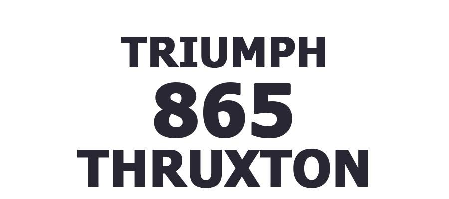 THRUXTON 865